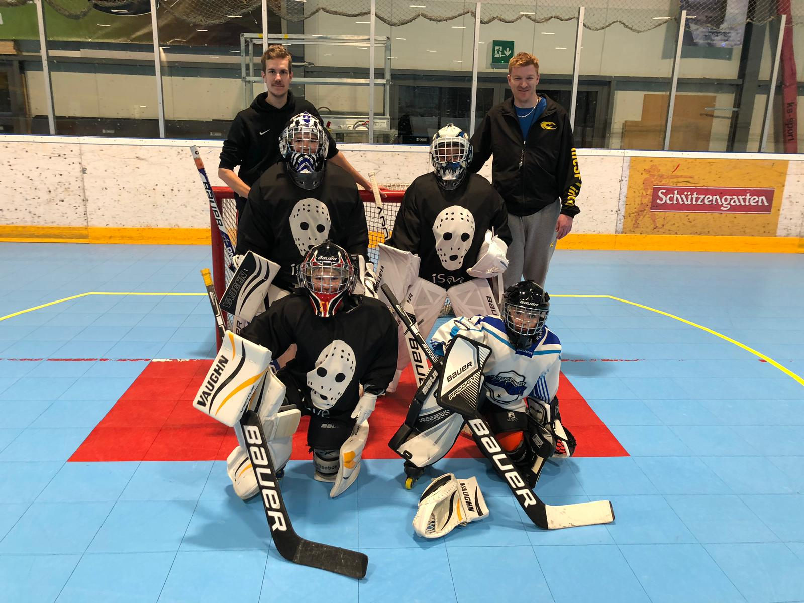 Die Junioren - Goalies in Aktion