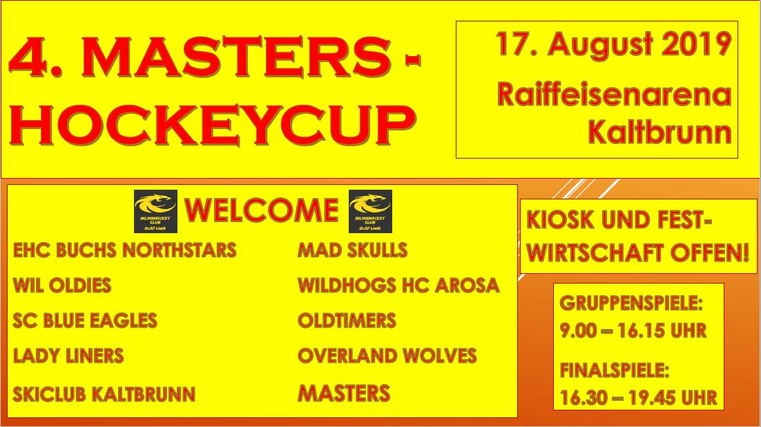 4. Masters - Hockeycup